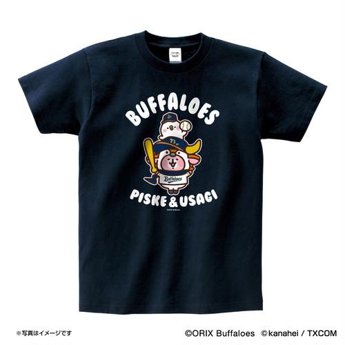 カナヘイの小動物 ピスケ&うさぎ×Bs Tシャツ