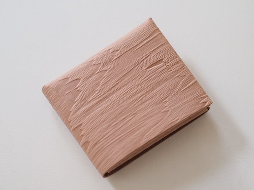 【i ro se】SEAMLESS SHORT WALLET 二つ折り財布 PLYWOOD