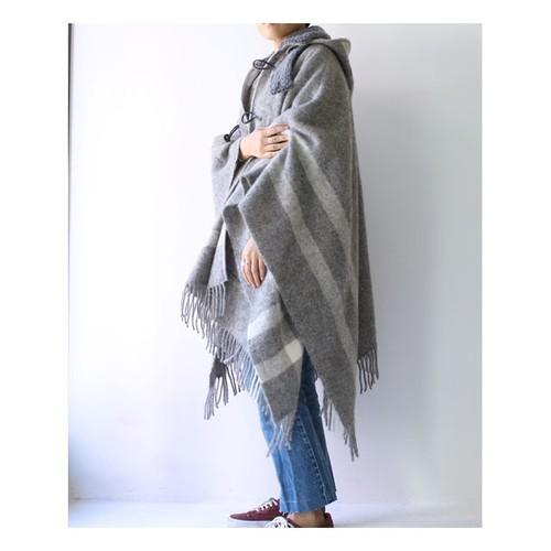 【FilMelange】GOBLIN Wool Cape