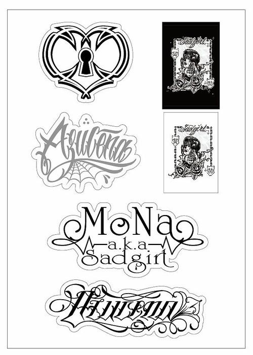 DEAR HOMEGIRL Sticker Set