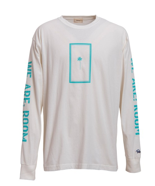 WE ARE: ROOM PARM TREE PRINT LONG SLEEVE[REC228]