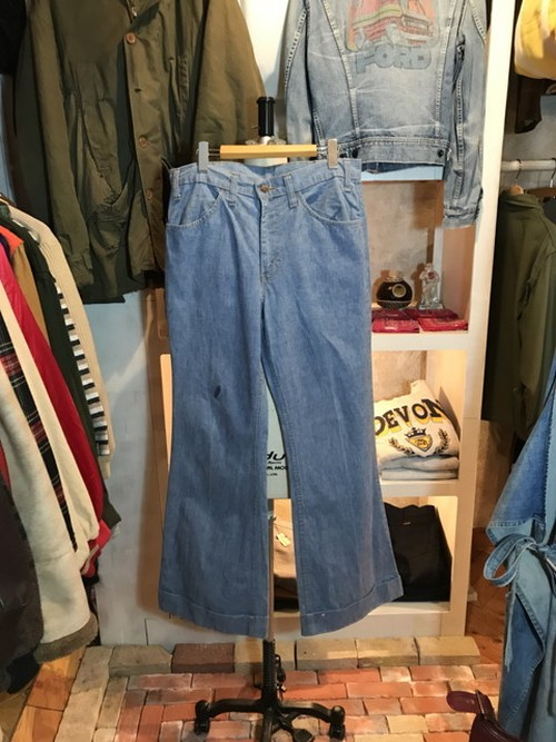 70's Levi's BIG E CHAMBRAY PANTS
