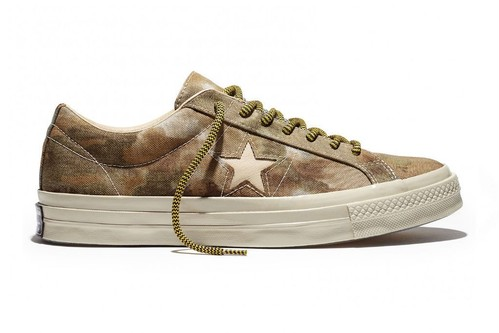 CONVERSE ONE STAR OX WHITE PEPPER BROOKWOOD CAMO