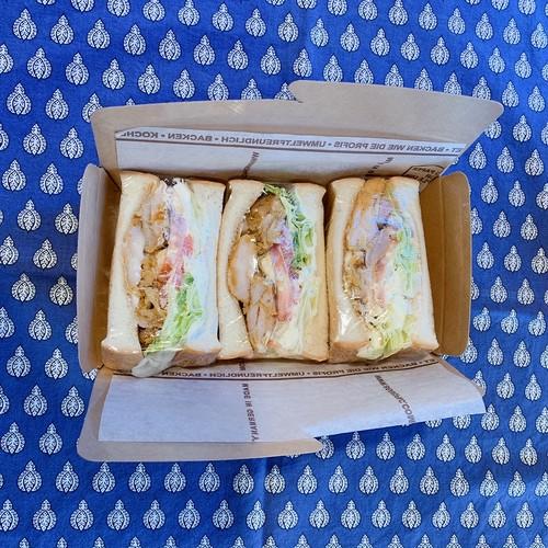 タンドリーチキンのサンドイッチ【takeout】