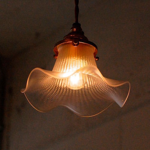 Antique Italian Glass Lamp Shade