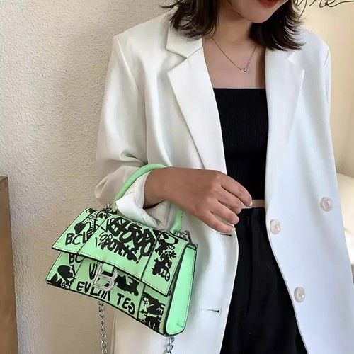 《予約》4カラーデザイナーハンドバッグ