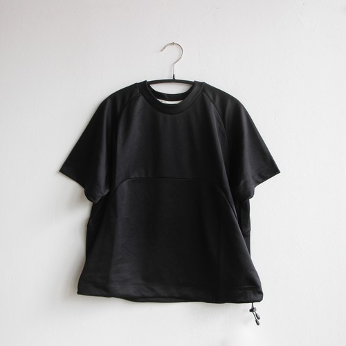 《MOUNTEN. 2021SS》drawcord T / black