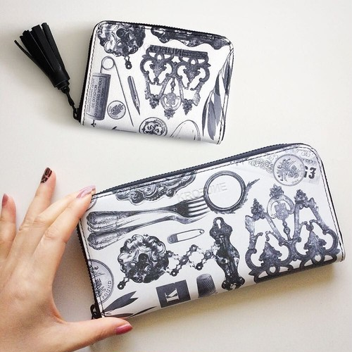 BLACK MUSEUM / long wallet 【KROFUNE】