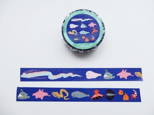 マスキングテープ 「深海魚」
