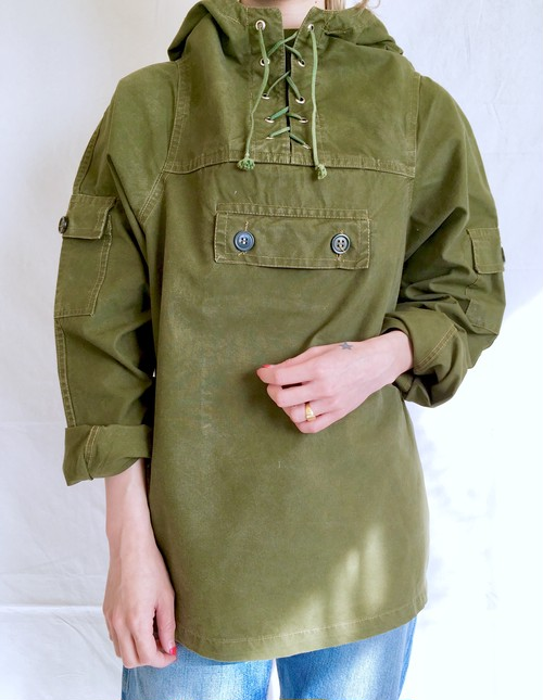 vintage cotton mountain anorak