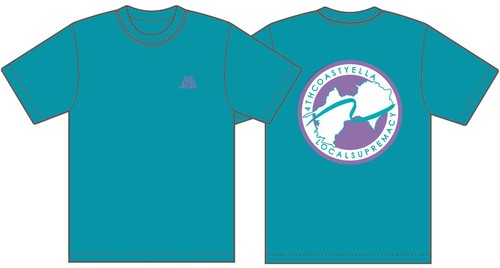 TRANS-4THCoast T-shirt (Turquoise)