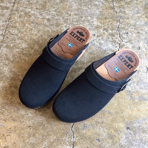 EXPERT(エキスパート) regular heel clogs  (black)