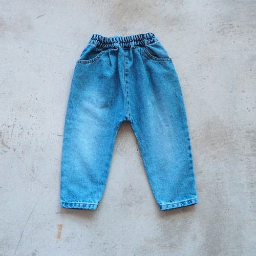 sarrouel denim pants