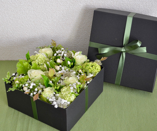 BOX Flower Green