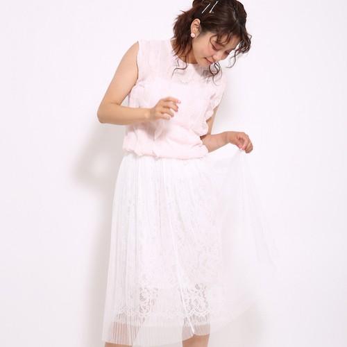 【期間限定春セール!即日発送】チュールプリーツスカート