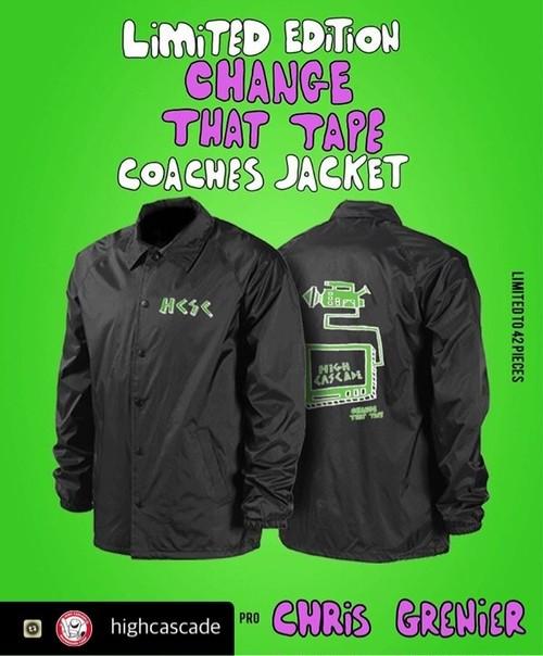 CHANGE THAT TAPExHCSC  コラボリミテッド コーチジャケット