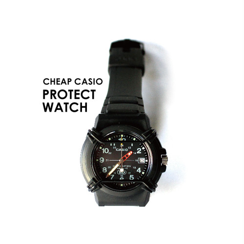 << 今なら送料無料!! >> CASIO PROTECT WATCH [ BLACK ]