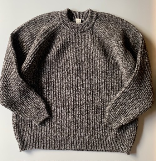 O project KNITTED CREW NECK DARK MELE