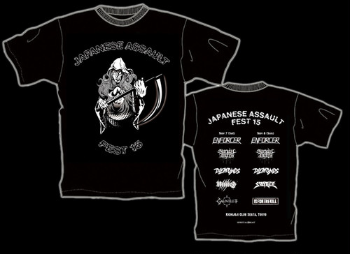 JAPANESE ASSAULT FEST 15 限定Tシャツ
