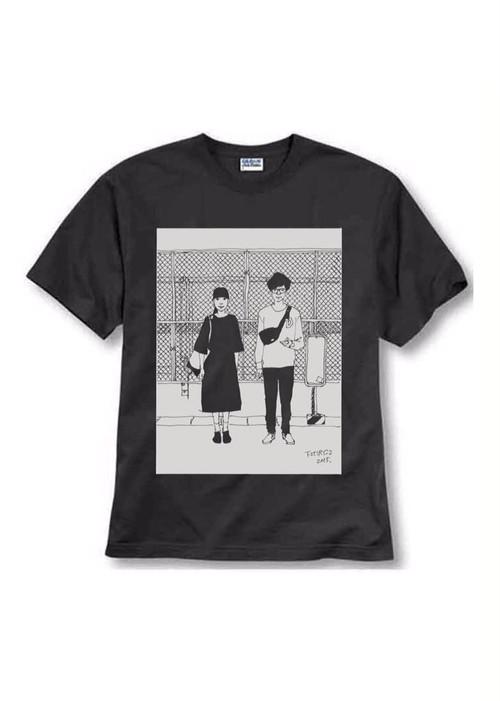 下北沢にて'15Tシャツ(黒)