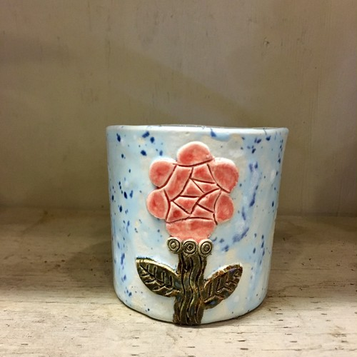 Koyomi Yanagimoto Rose flowerpot