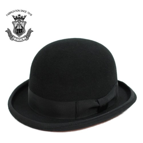 Bowler Hat | ウール フェルト ボーラーハット ダービーハット 山高帽子 (EDHAT エドハット)