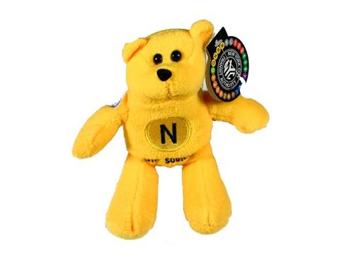 MTA Teddy bear N LINE