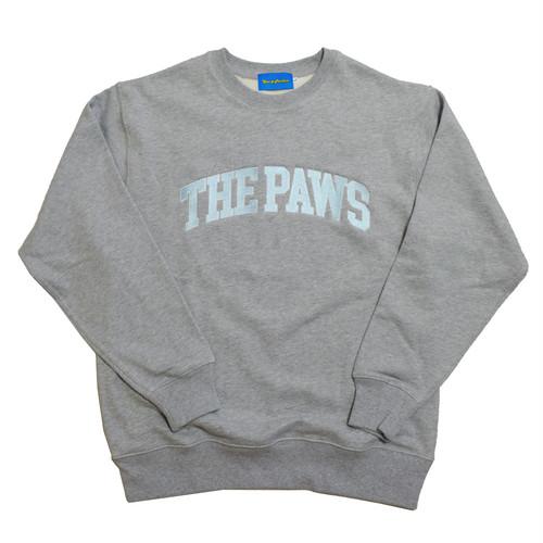 【Cat & Parfum】THE PAWS University Embroidery Logo Heavy Sweat