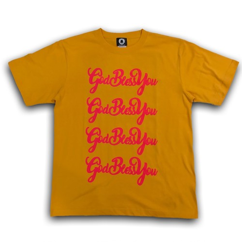 EXAMPLE GBY TEE / YELLOW:PINK