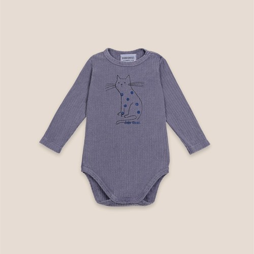《BOBO CHOSES 2020AW》Cat long sleeve Body / 6-12M