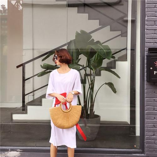 【新作10%off】lace up long T shirts 2646