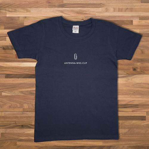 クリップ Tシャツ/ネイビー【CWE-065NV】