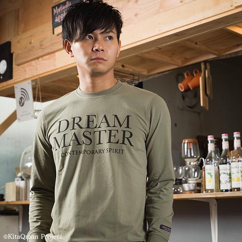 キタキュウマン着用 メンズ 長袖プリントTシャツ(DREAM MASTER)