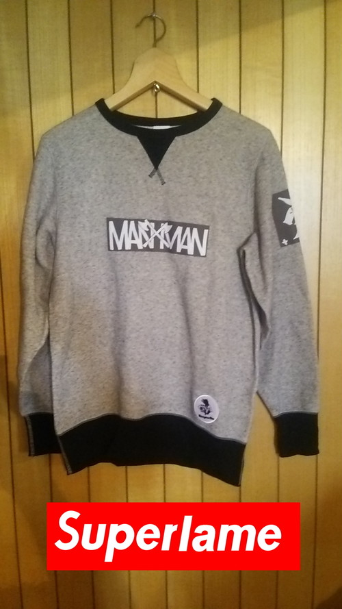 M.A.N.VS.M.A.N - コンビスウェット size:S