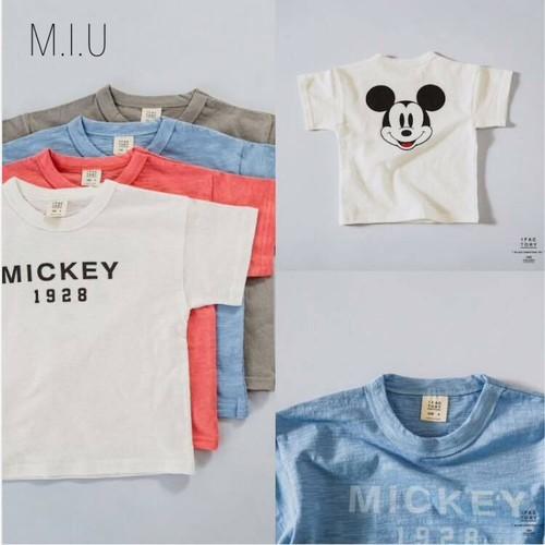 キャラクターシンプルTシャツ #MIU757