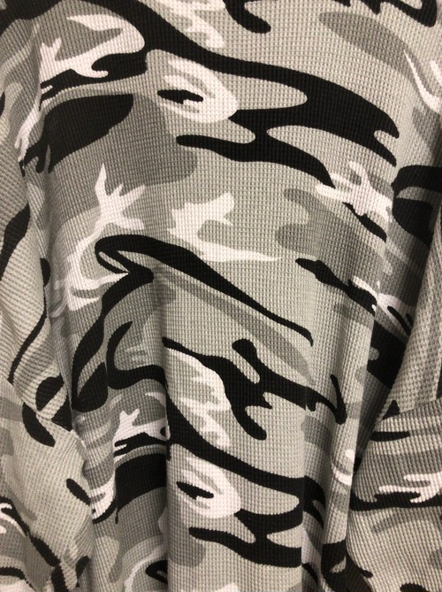 late90's〜early2000's camo thermal 5XL T's