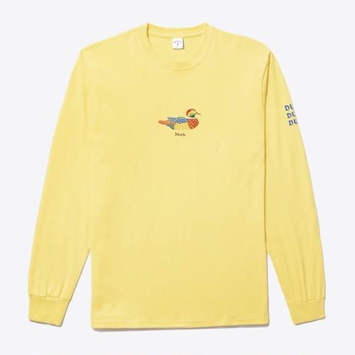 Duck LS Tee(Yellow)