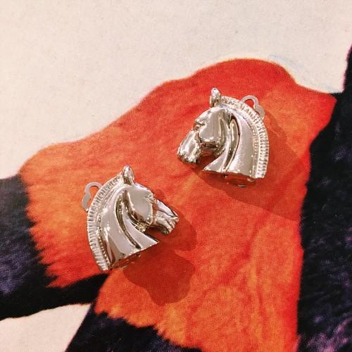 HERMES horse earring