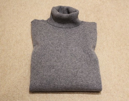 HERITAGE Wool Cashmere Turtleneck Sweater