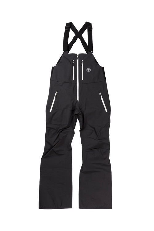 <予約商品>2021unfudge snow wear // SMOKE BIB PANTS // BLACK