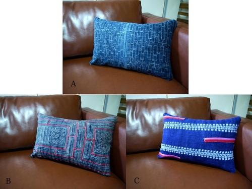 Cushion「Indigo Mon」