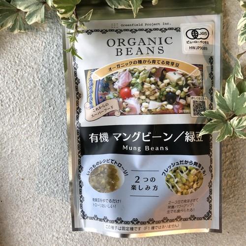 有機マングビーン/緑豆〜オーガニックの種から育てる発芽豆〜