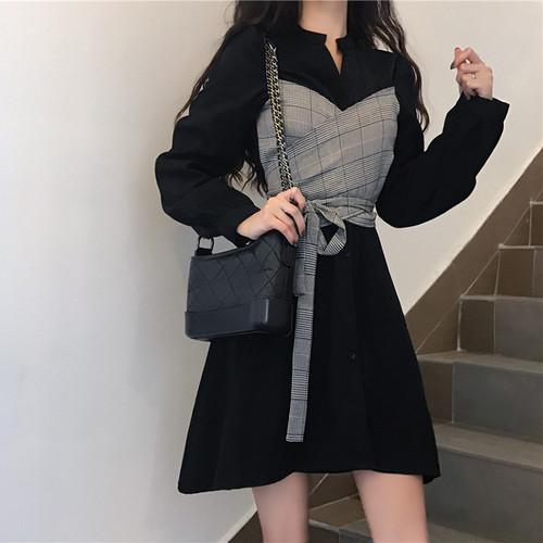 レイヤードデザインドレス 1510