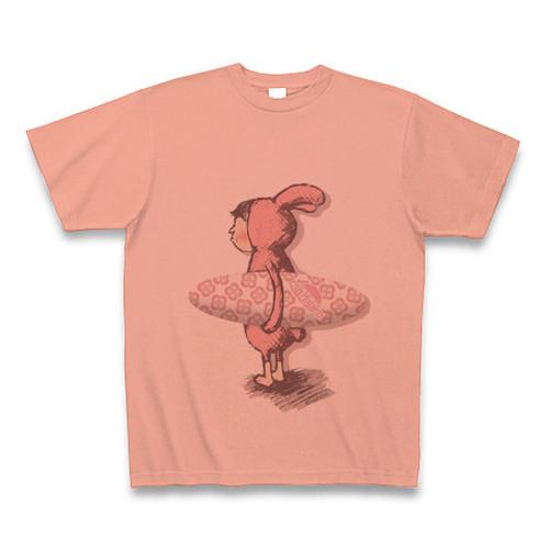 T022_Salmon pink 「Surfing rabbit」
