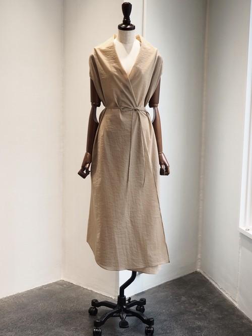 【ELIN】DRESS NECK WRAP DRESS