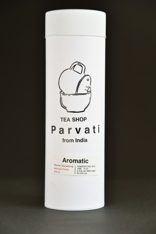 Parvati Darjeeling Second Flush #3 tri 50g缶入り <Aromatic>