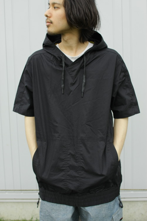 Short Sleeve Cotton Cloth Hoodie