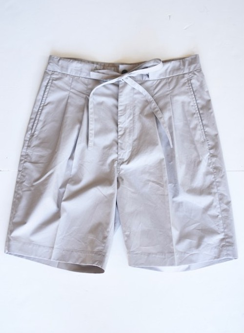 【FILL THE BILL】《MENS》PIN CHECK TROUSERS SHORTS - SILVER