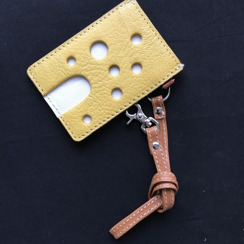 CHAMETSUKE チーズなパスケース