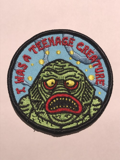 "GOBLINKO""I WAS A TEENAGE CREATURE PATCH"""